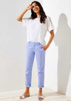 LOFT Girlfriend Chinos