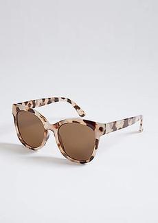 LOFT Glam Colorblock Sunglasses