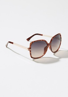 LOFT Glam Square Sunglasses