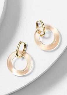 LOFT Glass Drop Earrings