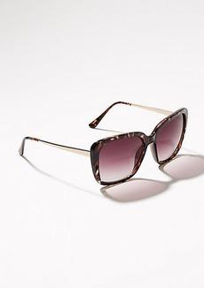 Glitter Glam Square Sunglasses
