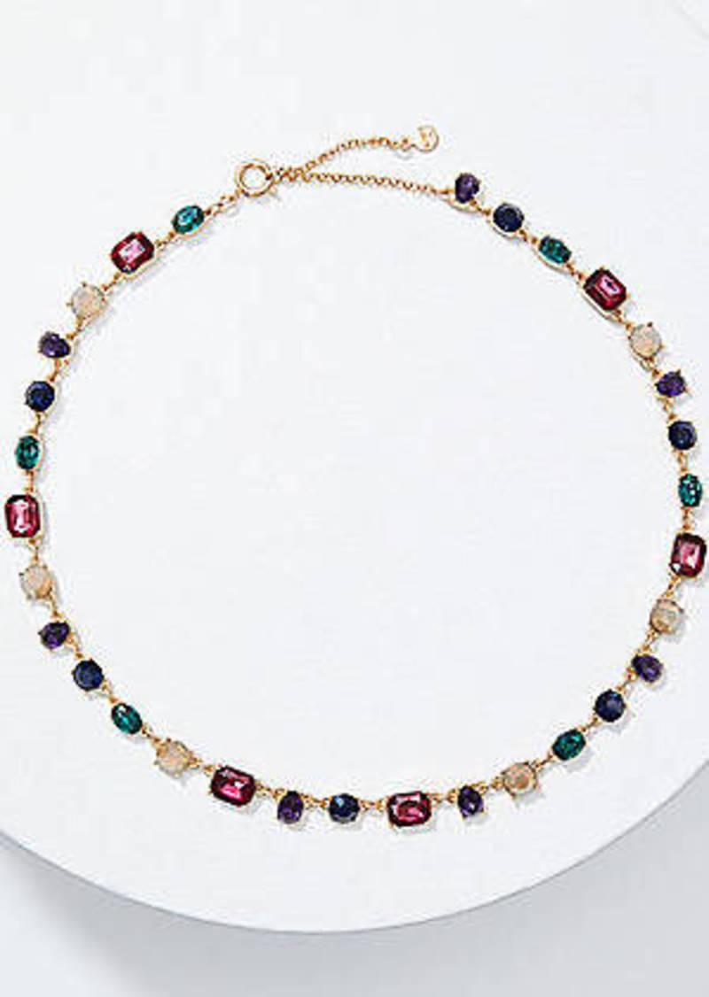 LOFT Glittery Statement Necklace