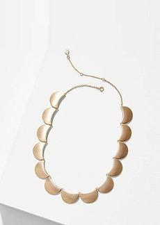 LOFT Half Moon Necklace