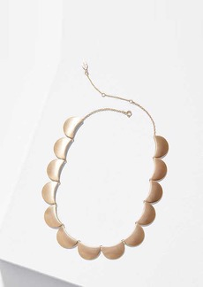 LOFT Half Moon Necklace