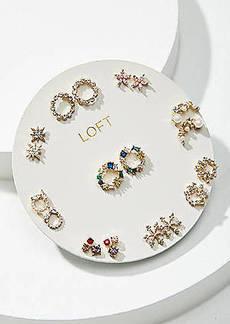 LOFT Halo Stud Earring Set