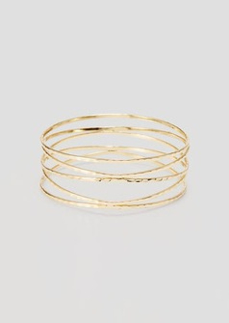LOFT Hammered Strappy Bangle
