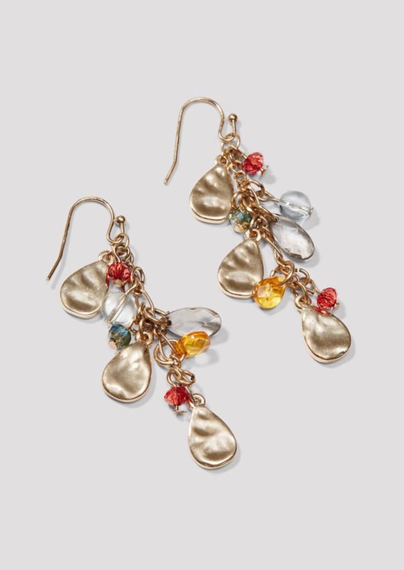 LOFT Harvest Stone Dangle Earrings