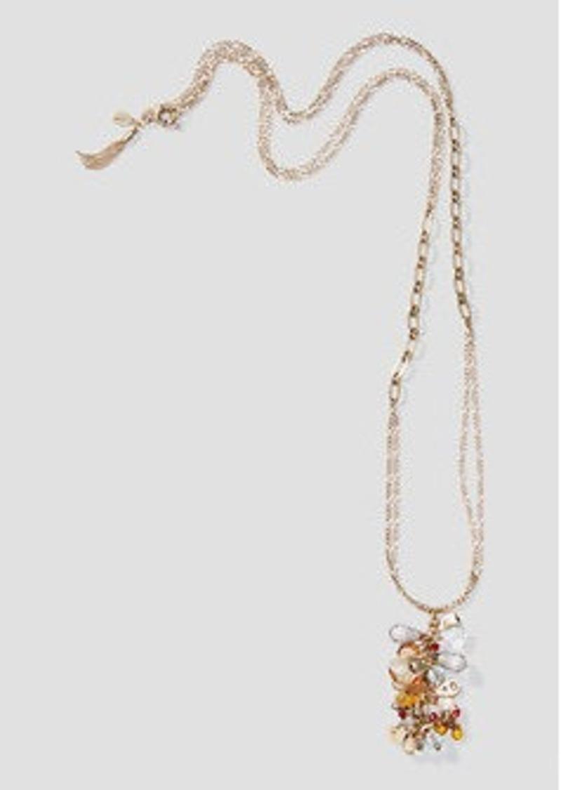LOFT Harvest Stone Pendant Necklace