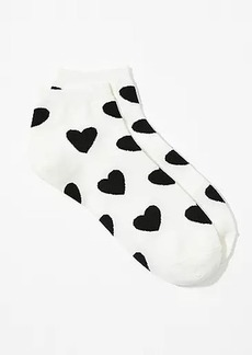 LOFT Heart Ankle Socks