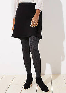LOFT Herringbone Knit Tights