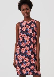 Hibiscus Shift Dress