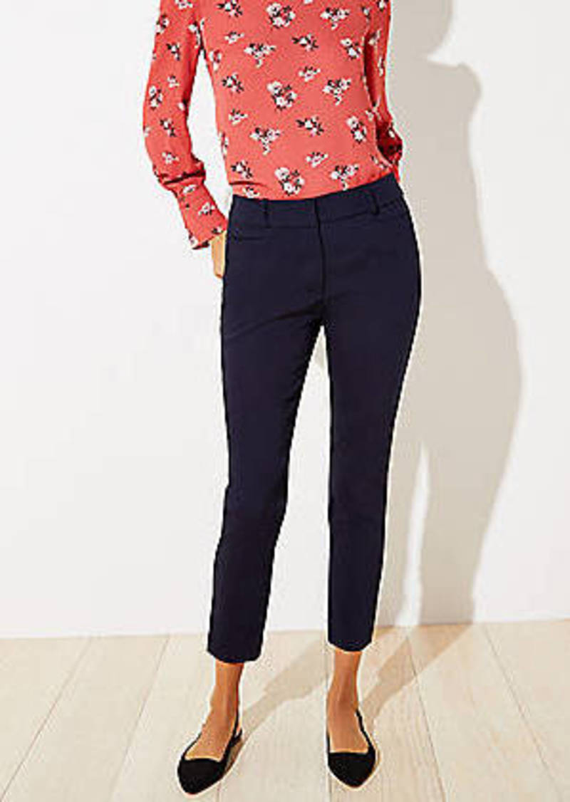 LOFT High Waist Skinny Ankle Pants in Curvy Fit