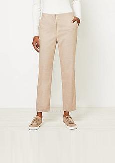 LOFT Slim Pants in Herringbone
