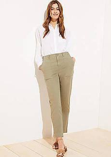 LOFT High Waist Utility Pants