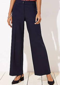 LOFT High Waist Wide Leg Trousers in Curvy Fit