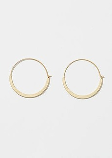 LOFT Hoop Pull Through Earrings