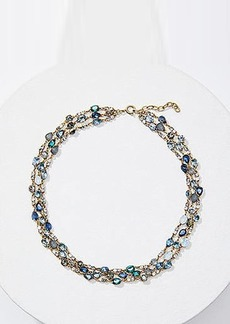 LOFT Icy Statement Necklace
