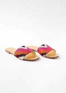 LOFT Ikat Slide Sandals