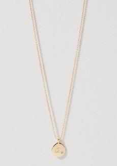 LOFT Initial Pendant Necklace