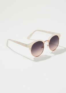LOFT Iridescent Retro Sunglasses