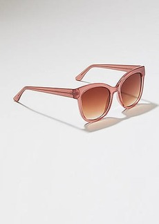 LOFT Iridescent Square Sunglasses