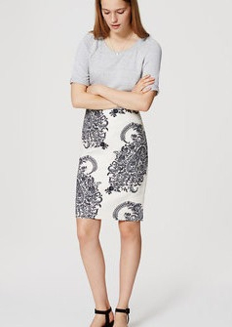 LOFT Ivy Pencil Skirt