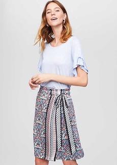 Kaleidoscope Wrap Skirt