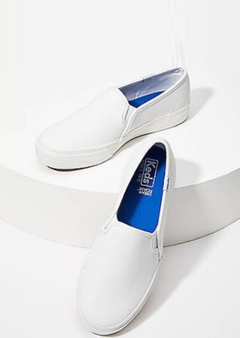 LOFT Keds Double Decker Leather Sneakers