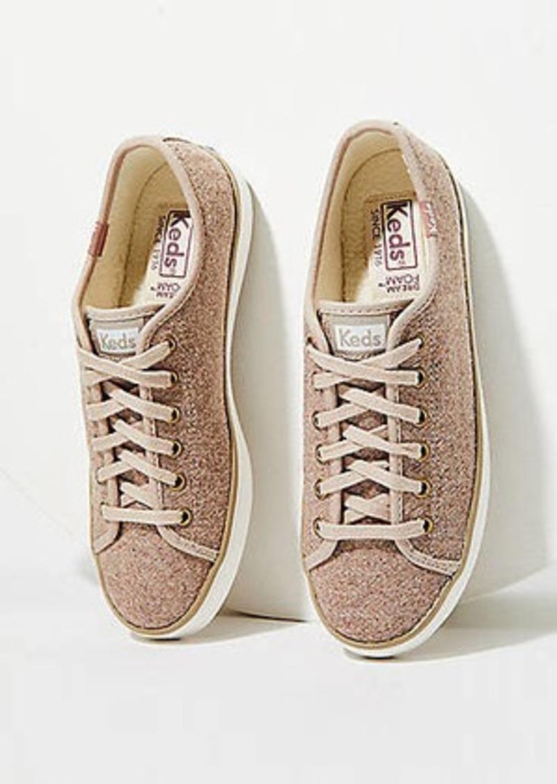 LOFT Keds Wool Faux Shearling Kickstart Sneakers