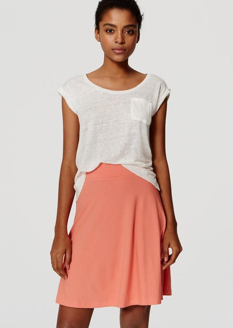 LOFT Knit Circle Skirt