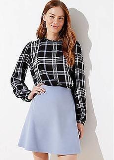 LOFT Knit Flippy Skirt