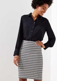 LOFT Knit Pull On Pencil Skirt