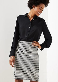 LOFT Knit Pull On Pencil Skirt