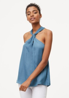 Knotted Halter Top
