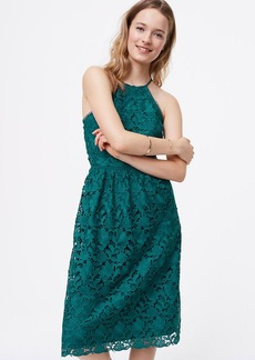 LOFT Lace Halter Dress