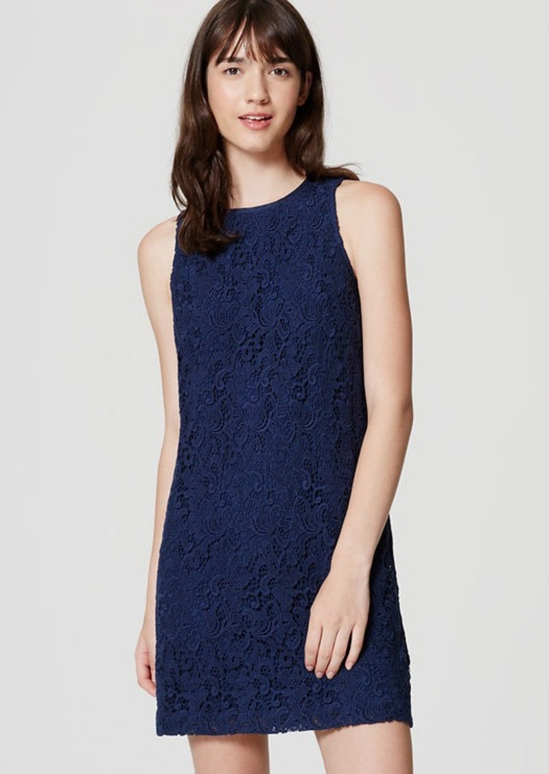 LOFT Lace Shift Dress