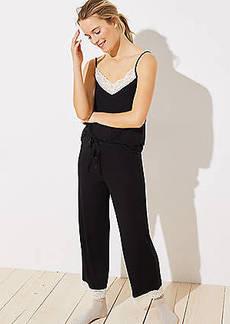 LOFT Lace Trim Pajama Pants