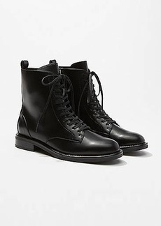 LOFT Lace Up Boots