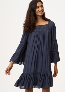 Lacy Flounce Dress