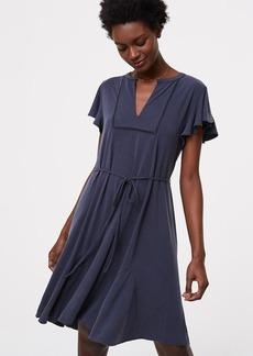 Lacy Flutter Dress