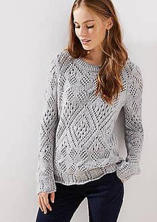 LOFT Lacy Knit Sweater