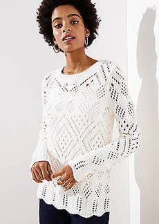 LOFT Lacy Knit Sweater