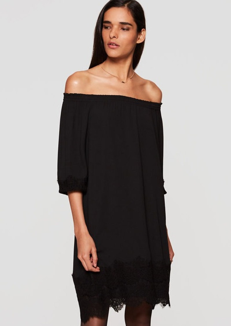 LOFT Lacy Off the Shoulder Dress