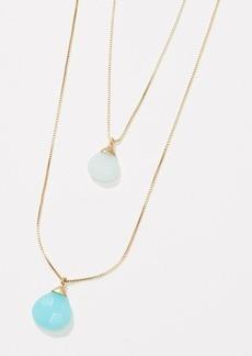 LOFT Layered Pendant Necklace