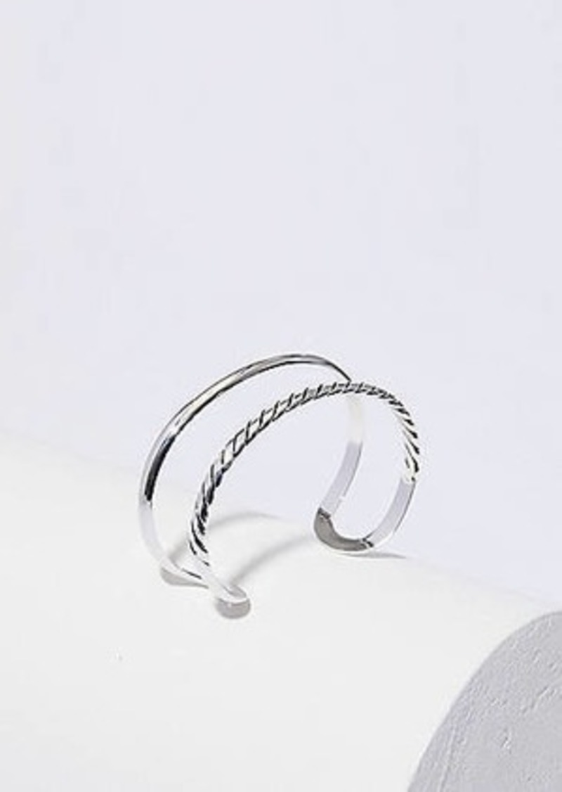 LOFT Layered Rope Cuff Bracelet