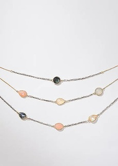 LOFT Layered Station Necklace