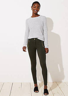 LOFT Leggings in Zip Pocket Ponte