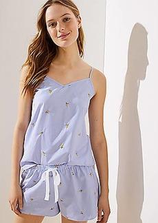 LOFT Lemon Cami Pajama Set