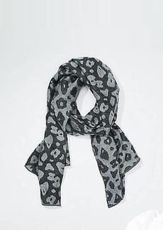 LOFT Leopard Blanket Scarf