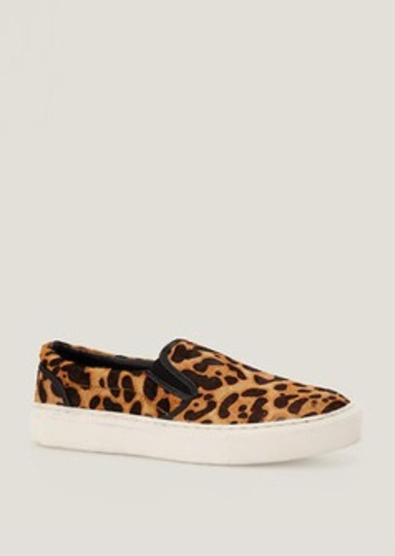 LOFT Leopard Haircalf Slip-On Sneakers by MIA